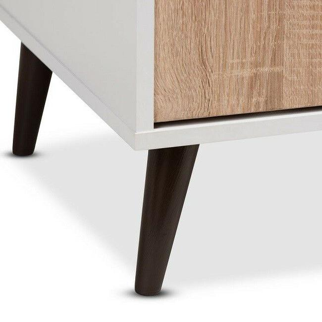 Mid Style TV Stand Entertainment Center Media