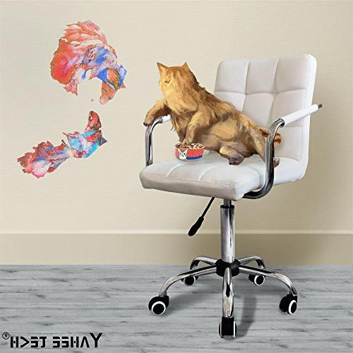 Gotobuy Office Executive PU Leather Chair White