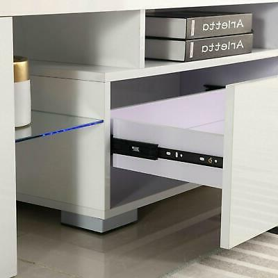 Modern TV LED Console Table
