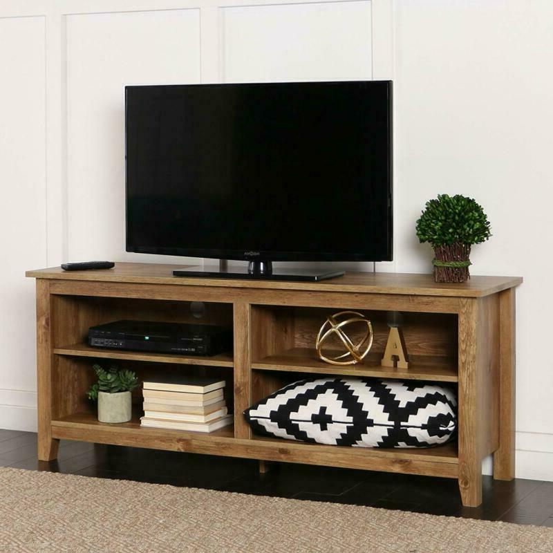 new 58 inch wide barnwood finish television