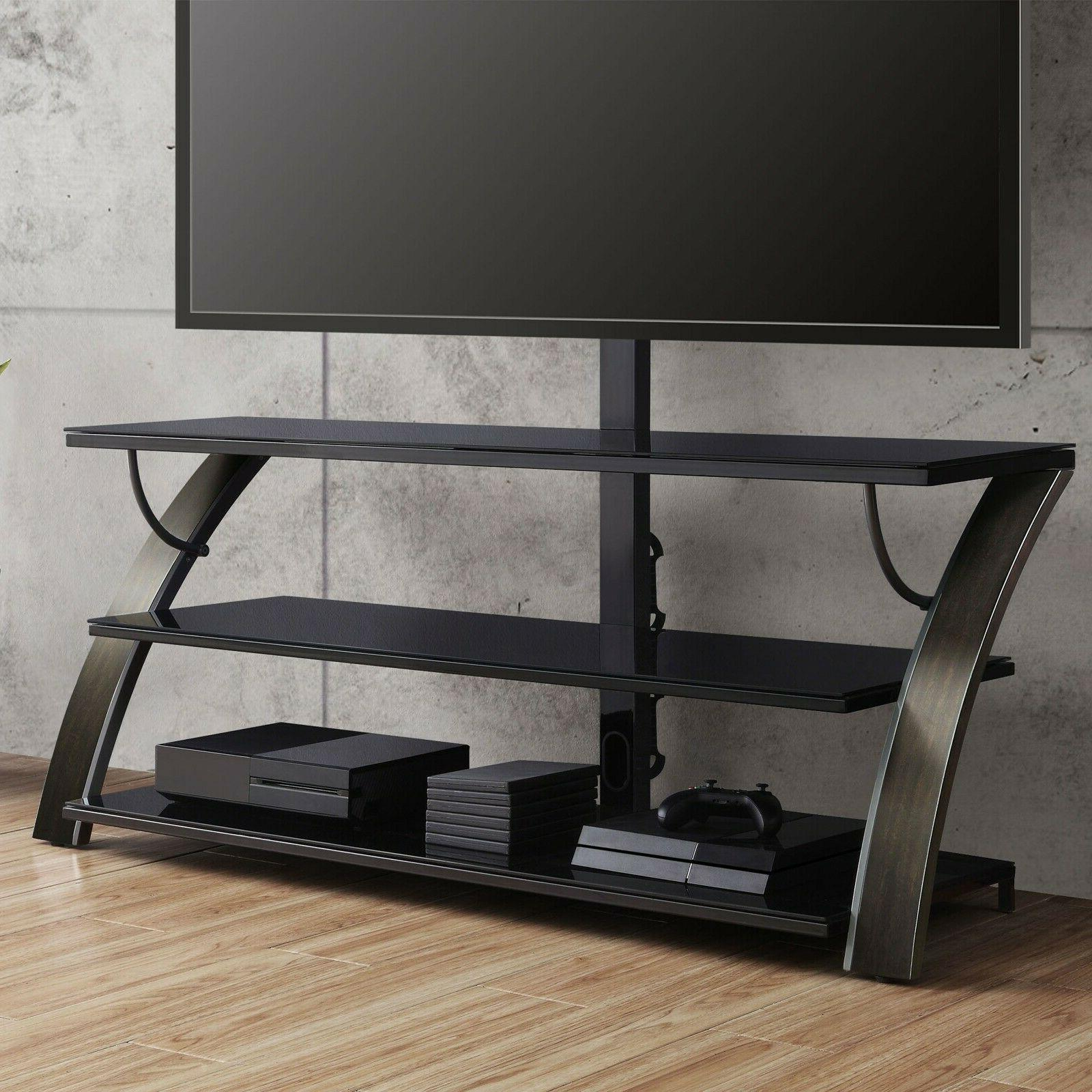 Flat Panel Stand w/ Housing Furniture Mounted