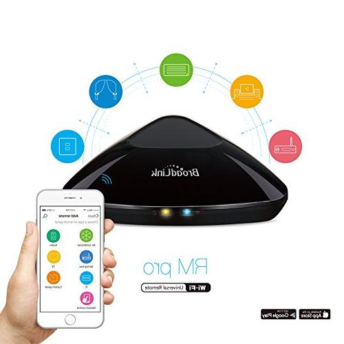 BroadLink New ,WiFi Smart Home IR One Automation Learning Universal Remote for Apple Android