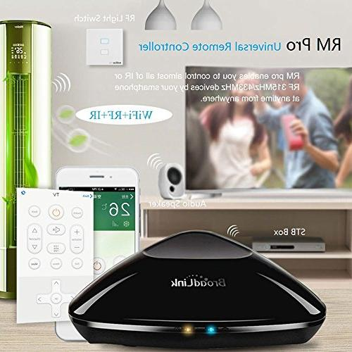 BroadLink New RM ,WiFi Home IR RF All One Remote Control Apple Android Smartphone