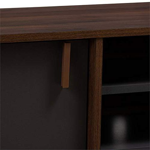 TV Stand Brown and
