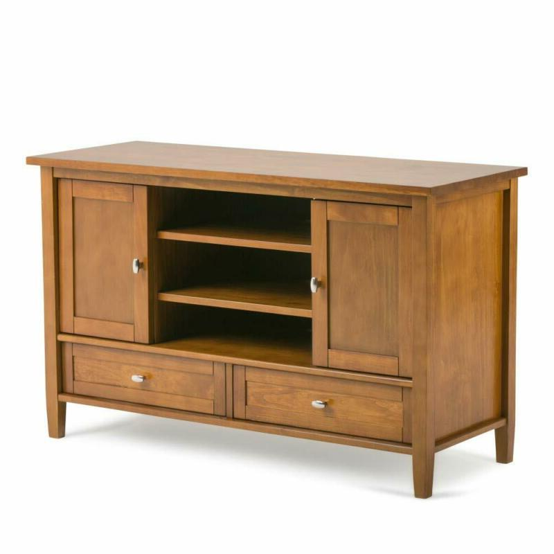 solid wood tv stand entertainment center rustic