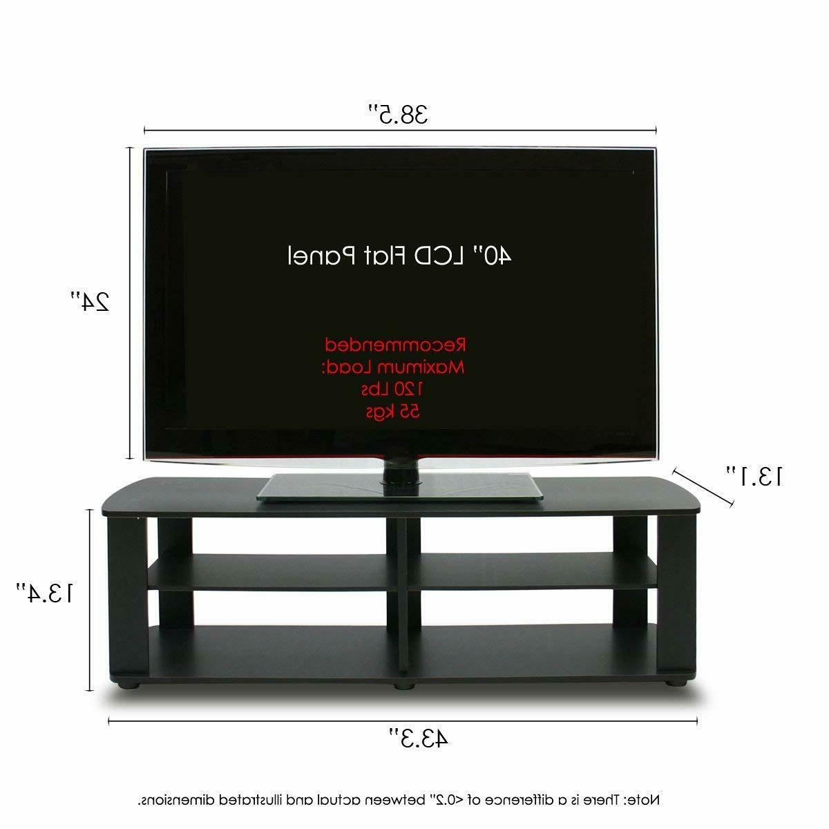 STYLISH UP to 50 Media Entertainment Center Flat Screen Television