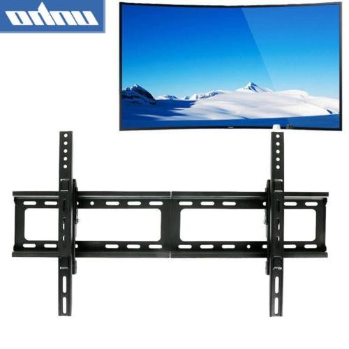 tilt curved panel low profile fixed tv