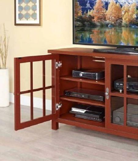 TV With Doors Enclosed Media Console TV's to 55 in