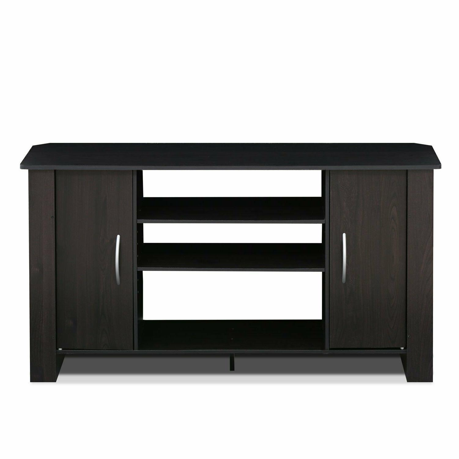 tv econ stand entertainment center espresso 14055ex