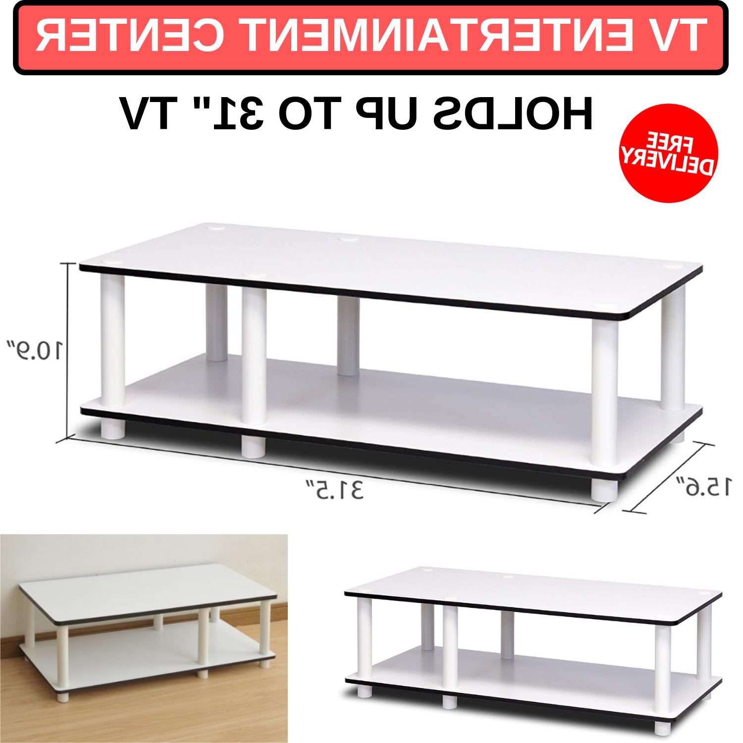 """Tv Entertainment Center Holds Up To 31"""" Flat Screen Panel Le"""