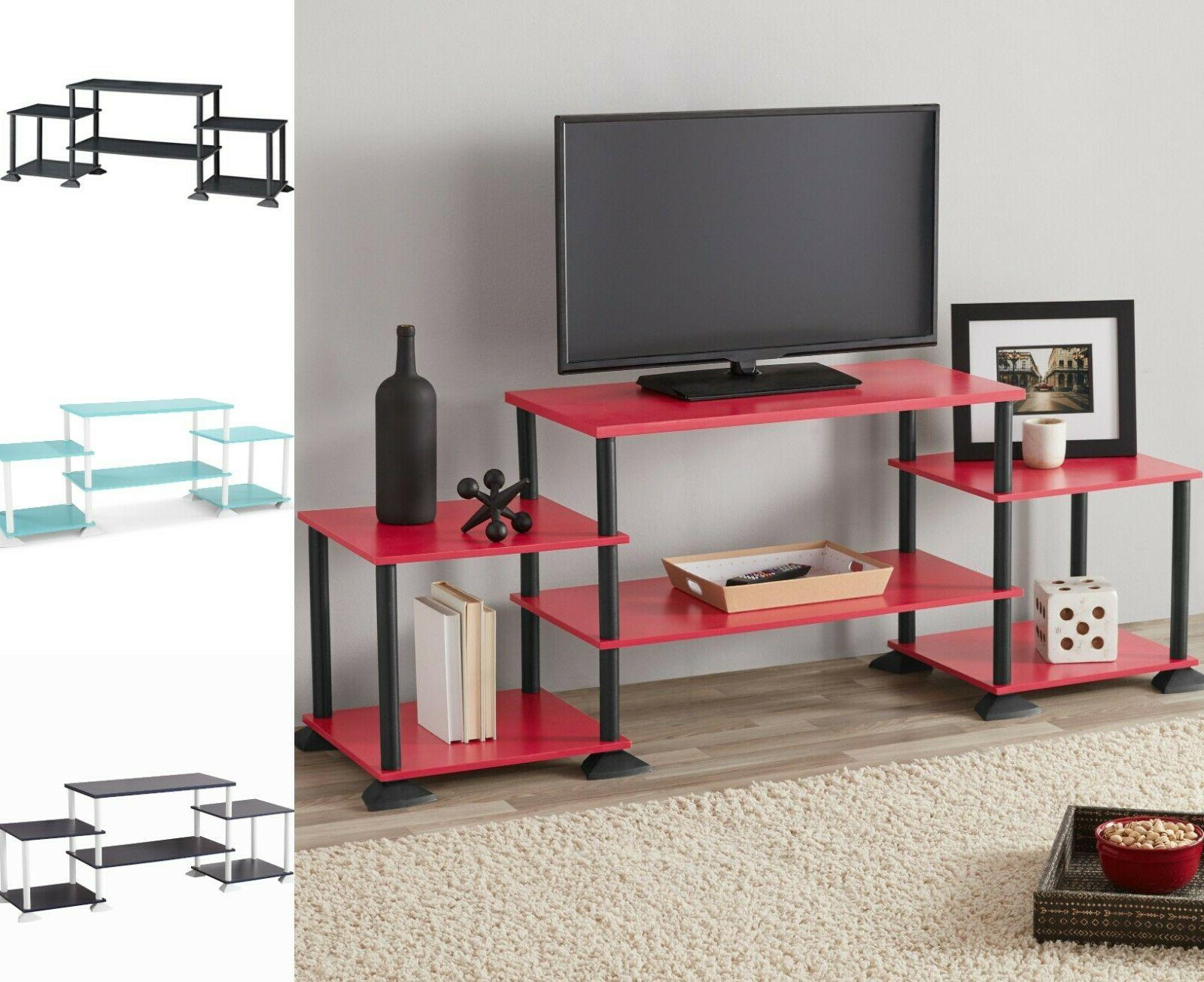 tv media stand 3 cube entertainment center