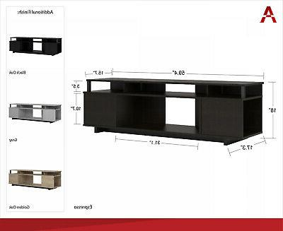 TV Stand 65 Flat TVs Center Home Console