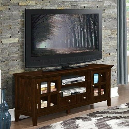 TV Center Media Home Theater Cabinet 66""