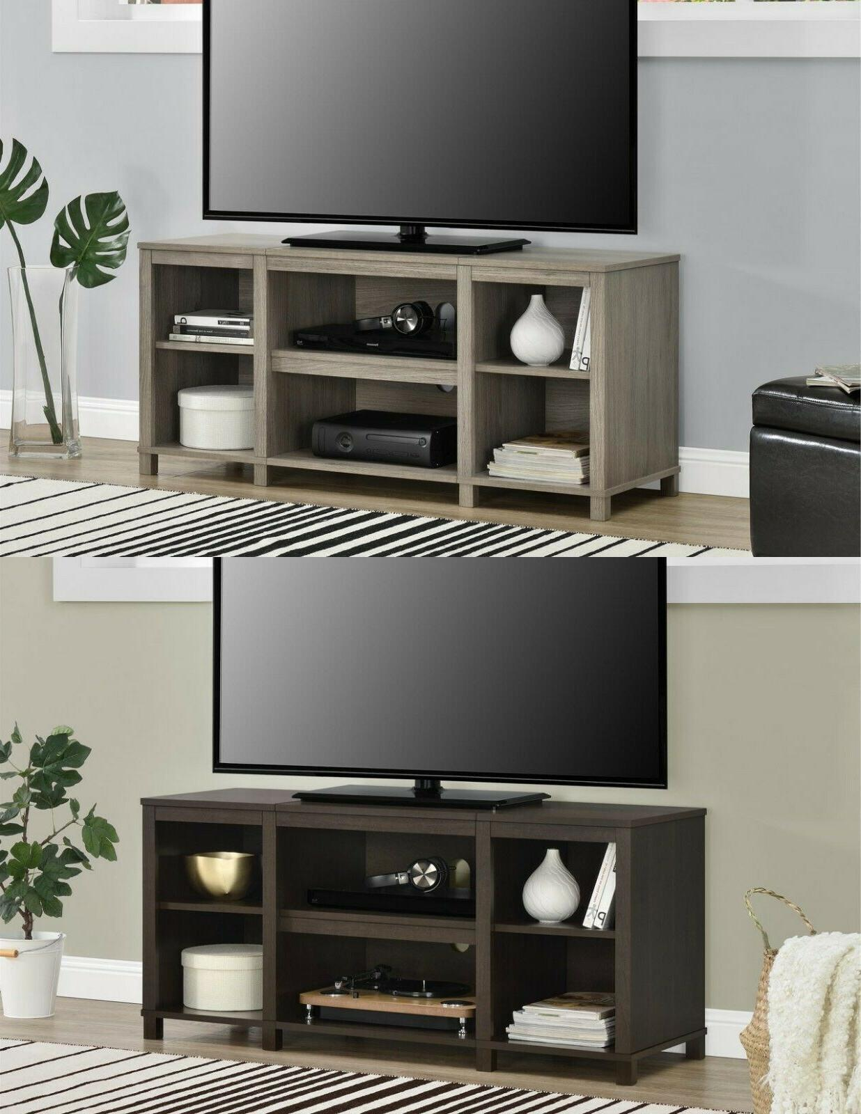 tv stand console 50 media entertainment center