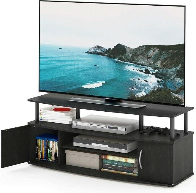 Tv Stand Console Cabinet Entertainment Center for TV Up to 5