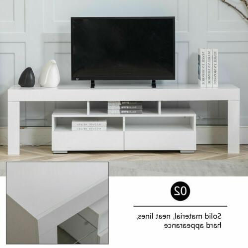 TV Stand Console Unit Lights
