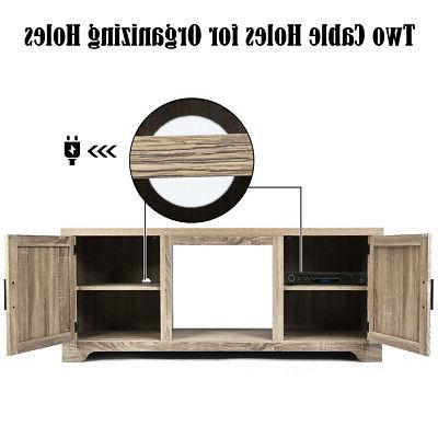 """TV Stand Console W/ 2 65"""""""