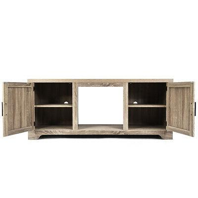 "TV Console Display w/2 for 65"" TV"
