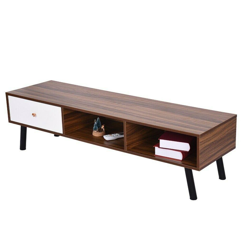TV Stand Entertainment Console Media Cabinet for Living Room