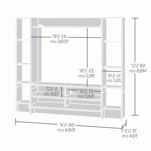 TV Living Cabinet Shelves