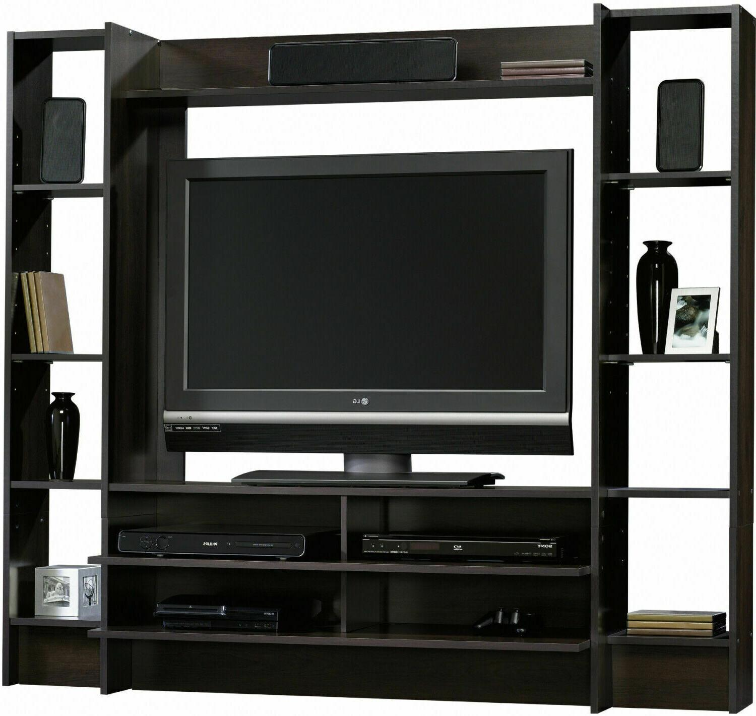 tv stand entertainment center living room wall