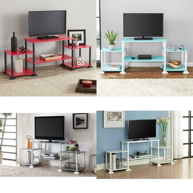 tv stand entertainment center media console wood