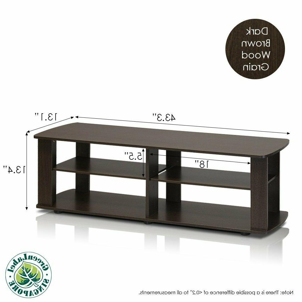 TV Stand Entertainment Media Furniture Console Cabinet