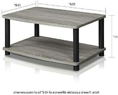 TV Stand Entertainment Modern Small Coffee Furniture