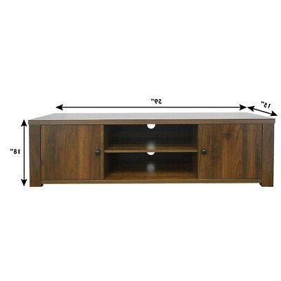 TV Stand Entertainment TV's to w/Storage Cabinets Home