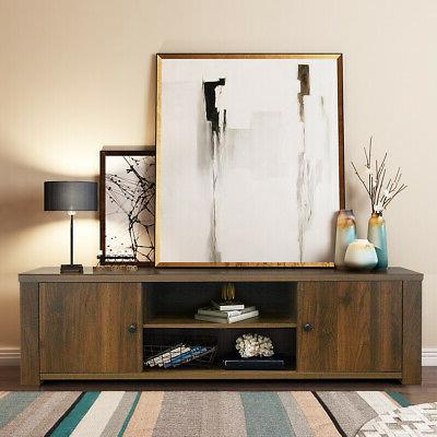 """TV Stand Entertainment Center TV's Up to 65"""" w/Storage"""