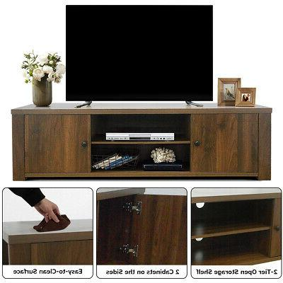 """TV Entertainment Center TV's 65"""" w/Storage Cabinets Home Office"""