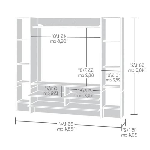 TV Stand Entertainment Wall Furniture