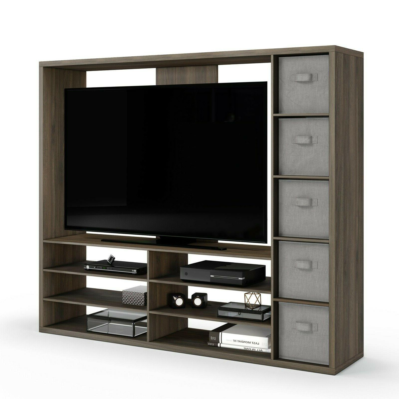 TV Stand Center Wall Unit Living Room Furniture Storage