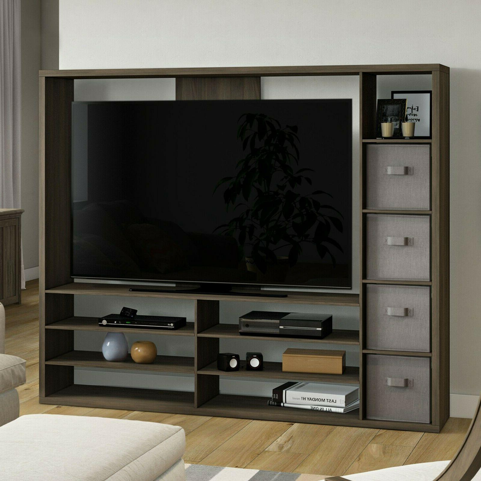 tv stand entertainment center wall unit living