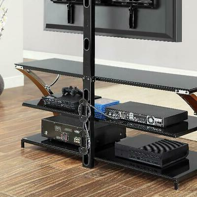 TV Stand Entertainment Center Furniture Inch LED Flat