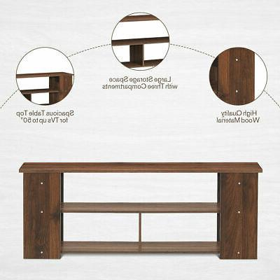 TV Stand Entertainment Brown