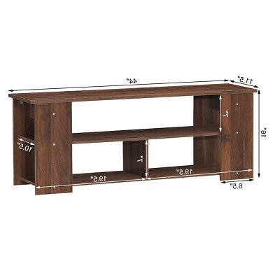 """TV Center Cabinet Home TV's 50"""" Brown"""