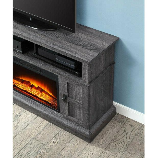 TV Entertainment Center Electric Fireplace Remote Control
