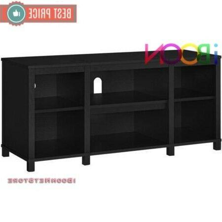 TV Media CONSOLE Entertainment Storage Home Theater Wood