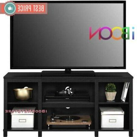 "TV STAND Center CONSOLE 50"" Entertainment Storage Home Theater Wood"