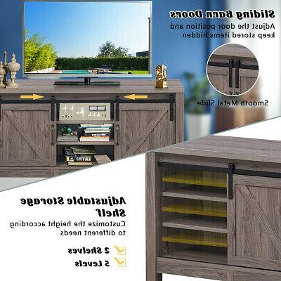 TV Stand Door Entertainment for TV's up with Storage