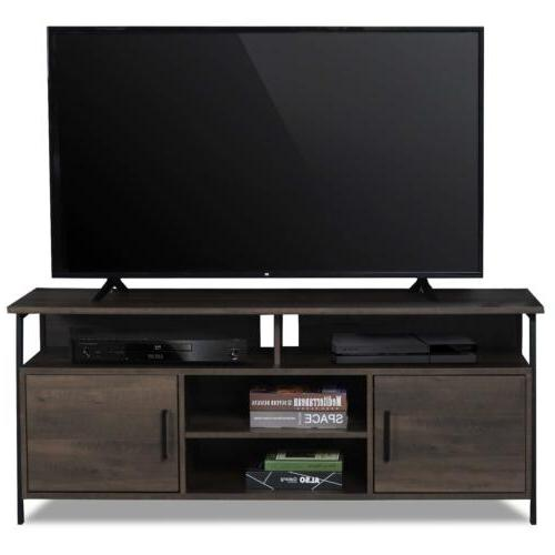 TV Stand Table Entertainment Center Console Modern Storage Cabinet