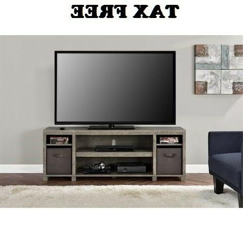 TV Stands For Flat Screens Small Entertainment Center Bins M