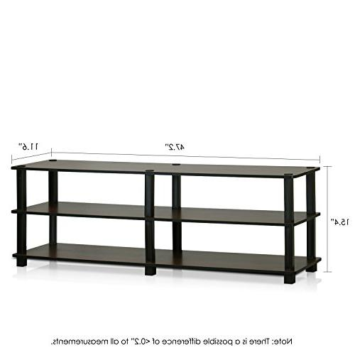 Furinno No Tools Entertainment TV Stands,