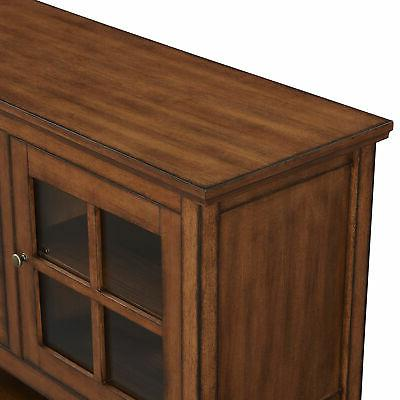 Walker Edison Wood Console Buffet TV Stand for to -