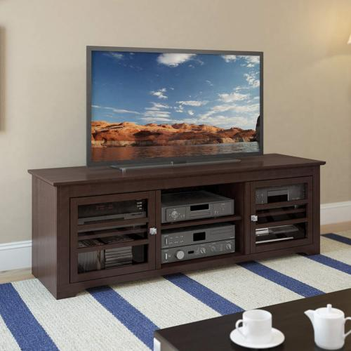 Sonax West TV Bench Dark Espresso