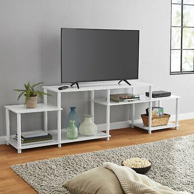 white tvs up to 52 stand home