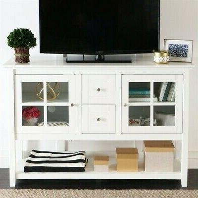 wood 52 table tv stand