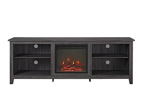 """WE 70"""" Media TV Stand Console"""