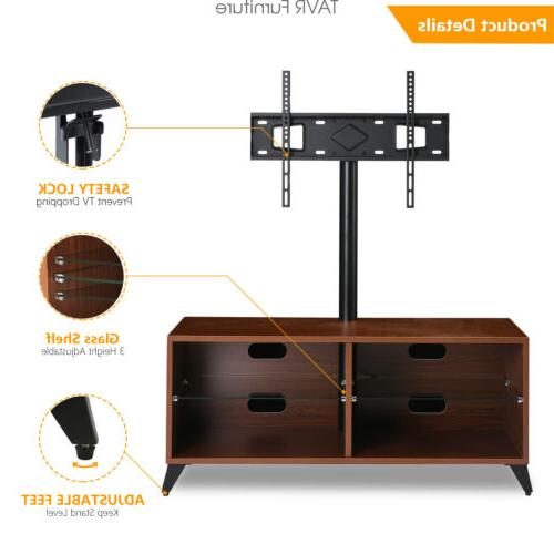 Wood Center with for 32-65 inch ,Walnut